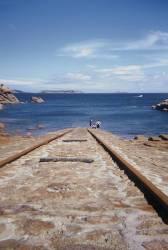 Des rails dans l'océan. (Jérome Siran) - Muzeo.com