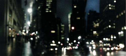 Les rues de New York de nuit (Mike Cullen) - Muzeo.com
