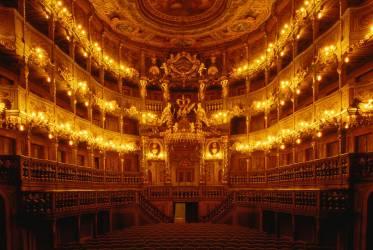 Opera Markgraefliches à Bayreuth en Bavière (anonyme) - Muzeo.com