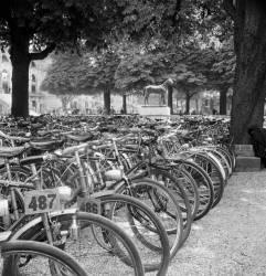 Parc à bicyclette à Longchamp (Keystone) - Muzeo.com