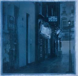 Seedy Soho Alley (Londres) (Richard E. Smith) - Muzeo.com