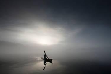 Sérénité et kayak (Smithson Jim) - Muzeo.com