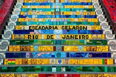 Selaron Stairs (Jan Cobb) - Muzeo.com