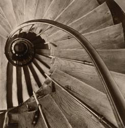 Escalier en colimaçon (Malcolm Dixon) - Muzeo.com