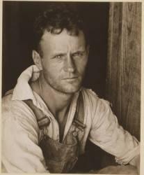 Alabama Tenant Farmer Floyd Bourroughs (Walker Evans) - Muzeo.com