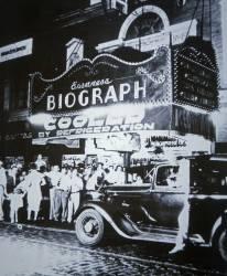 La salle de cinema Biograph à Chicago en 1934 (anonyme) - Muzeo.com