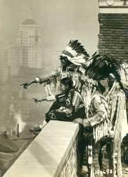 Les indiens Blackfoot à New York City (Umberto anonyme) - Muzeo.com