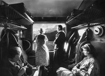 Chemins de fer suisse. (Jacques Boyer) - Muzeo.com