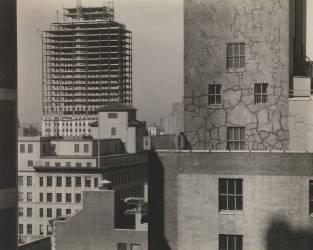 Depuis ma fenêtre à An American Place, Sud Ouest (Alfred Stieglitz) - Muzeo.com