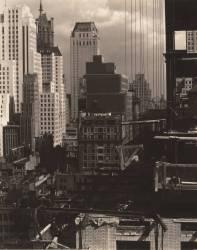 Depuis ma fenêtre à An American Place, Nord (Alfred Stieglitz) - Muzeo.com