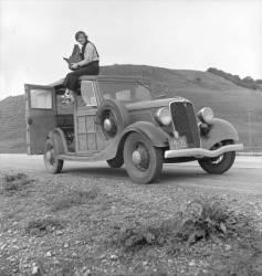 Dorothea Lange en Californie (Anonyme) - Muzeo.com