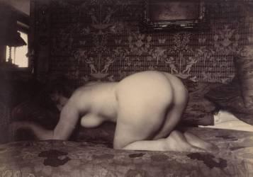 Femme (Eugène Atget) - Muzeo.com