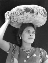 Femme à Tehuantepec (Tina Modotti) - Muzeo.com