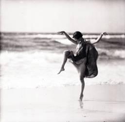 La danseuse Anna Denzler (Arnold Genthe) - Muzeo.com