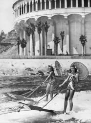 SKI NAUTIQUE EN CALIFORNIE EN 1938 (Keystone) - Muzeo.com