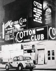 Le Cotton Club de Harlem à New York City dans les années 1930. (anonyme) - Muzeo.com