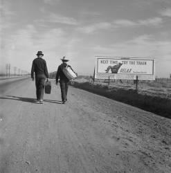 Vers Los Angeles (Dorothea Lange) - Muzeo.com