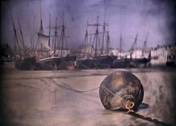 A rusty buoy (bouee rouillee) (John Cimon Warburg) - Muzeo.com