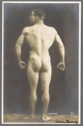 Adrien Deriaz, leveur de poids (anonyme) - Muzeo.com