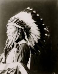 Afraid of Eagle, Sioux 1898 (Umberto anonyme) - Muzeo.com