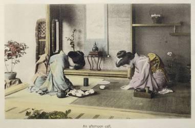 Cérémonie du thé (Umberto anonyme) - Muzeo.com