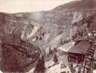 Canyon de Gilman et de Eagle River (William Henry Jackson) - Muzeo.com