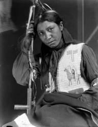 Charles American Horse, un membre du Buffalo Bill's Wild West Show (Gertrude Käsebier) - Muzeo.com