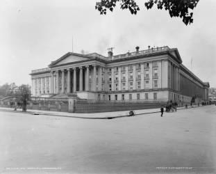 Département du Trésor des Etats-Unis, Washington D.C. (William Henry Jackson) - Muzeo.com