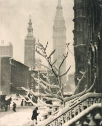Deux tours, New York (Alfred Stieglitz) - Muzeo.com