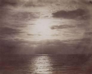 Effet de soleil dans les nuages - Océan (Gustave Le Gray) - Muzeo.com