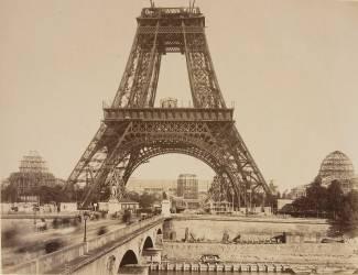 Etat d'avancement des travaux en Août 1888 (Neurdein Frères) - Muzeo.com