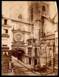 Le Gros Horloge de Rouen après restauration (Neurdein Frères) - Muzeo.com