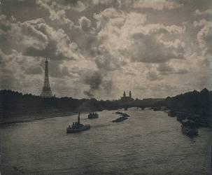 Paris : La Seine (Alfred Stieglitz) - Muzeo.com
