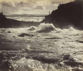 Pont au-dessus du Niagara (Barker George) - Muzeo.com