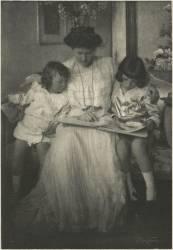 Princess Rupprecht and Her Children (Franck Eugene Smith) - Muzeo.com