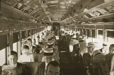 Passagers du train, New York (anonyme) - Muzeo.com