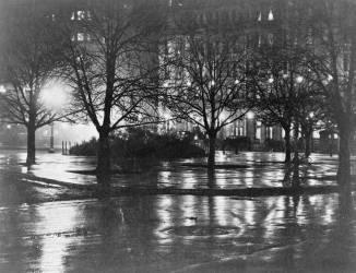 Reflets, nuit, New York (Alfred Stieglitz) - Muzeo.com