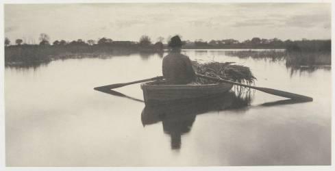 Rowing Home the Schoof Stuff (Pieter Henry Emerson) - Muzeo.com