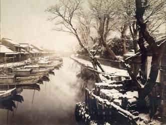 Sanya Bori (détail) (Kusakabe Kimbei) - Muzeo.com