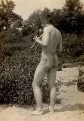 Thomas Eakins jouant au Aulos (Thomas Eakins) - Muzeo.com