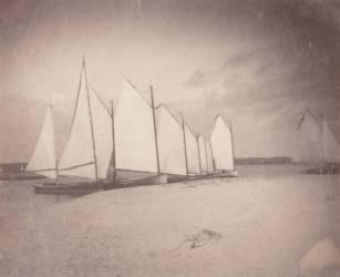 Voiliers sur les rives du New Jersey (Thomas Eakins) - Muzeo.com