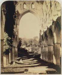 Abbaye de Rievaulx, Yorkshire du Nord (Roger Fenton) - Muzeo.com