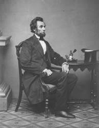 Abraham Lincoln (Alexander Gardner) - Muzeo.com