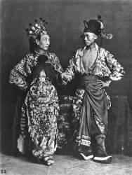 Acteurs Chinois (John Thomson) - Muzeo.com