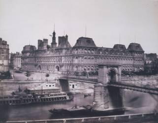 Ancien hôtel de ville de Paris (Edouard Baldus) - Muzeo.com