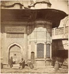 Ancienne fontaine de sultan Mahmoud (Felice Beato) - Muzeo.com