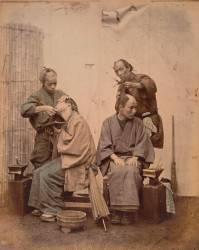 Barbier et coiffeur (Stillfried & Andersen Beato...) - Muzeo.com
