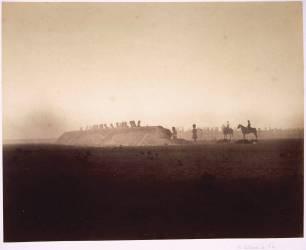 Camp de Châlons : manoeuvres du 3 octobre (Gustave Le Gray) - Muzeo.com