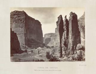 Canyon de Chelly (Timothy O'Sullivan) - Muzeo.com