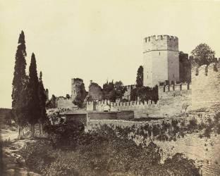Constantinople, enceinte byzantine, les sept tours (Beato Felice ,Robertson James...) - Muzeo.com